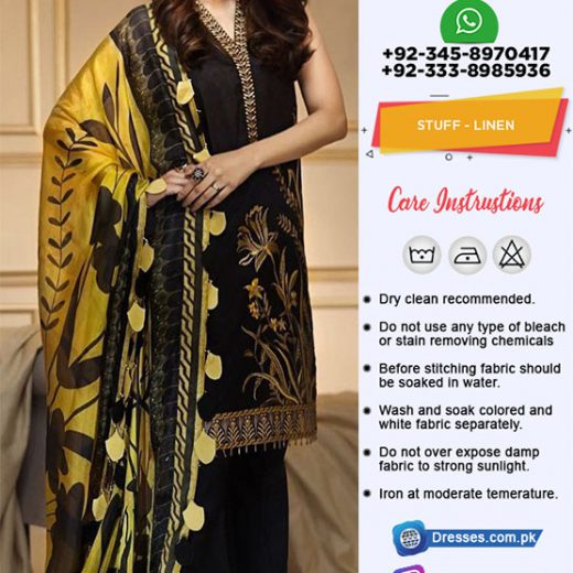 Anaya By Kiran Chaudary Linen Collection 2018