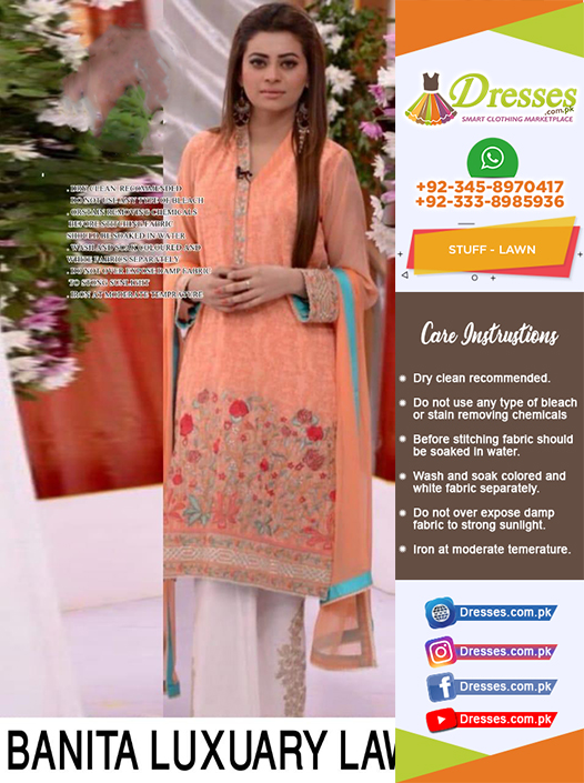 Banitas Lawn Collection 2018