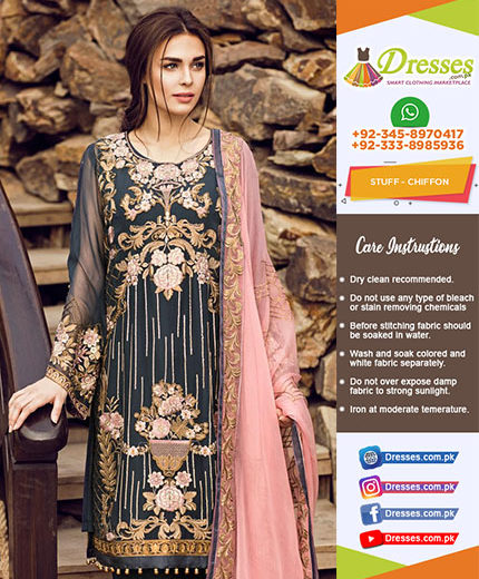 Flossie Chiffon Collection 2018