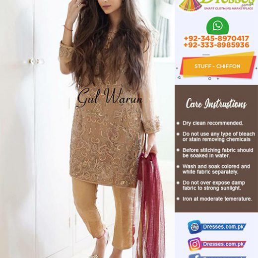 Gul Warun Chiffon Collection 2018