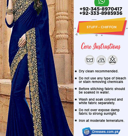 Indian Chiffon Saree Collection 2018