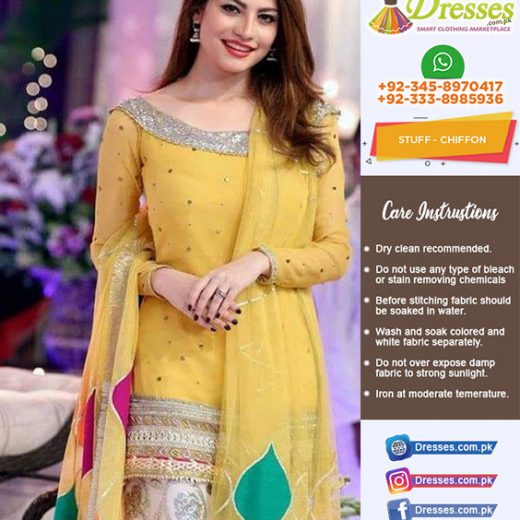 Kashees Mandi Chiffon Collection 2018
