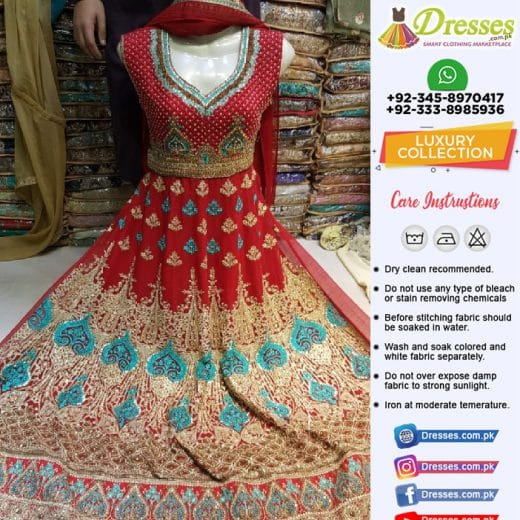 Latest Pakistani Frocks 2018