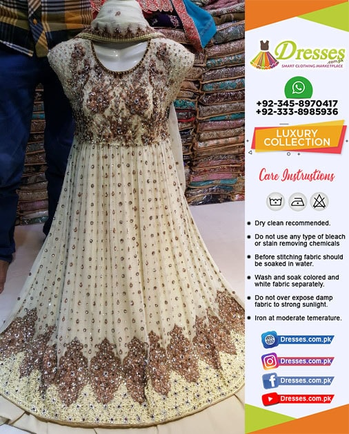 Pakistani Bridal Frock 2018