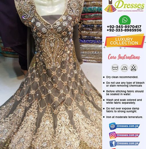 Pakistani Frock Collection For Girls
