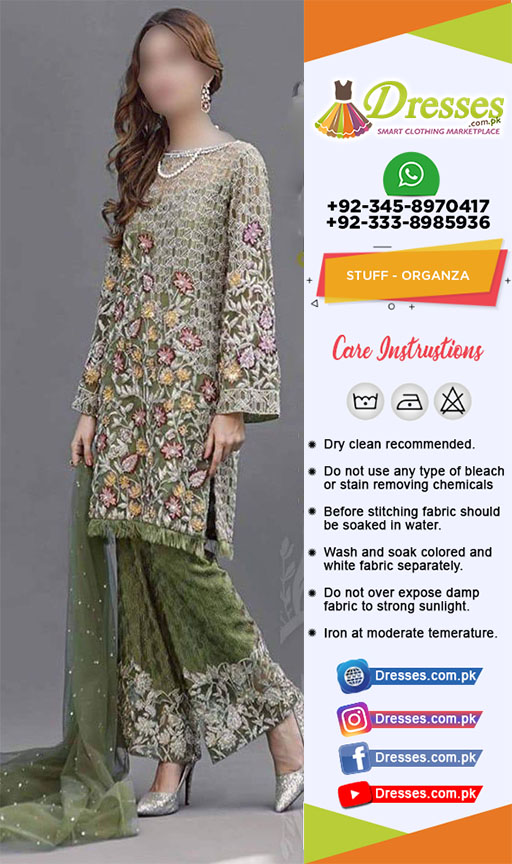 Pakistani Organza Collection 2018