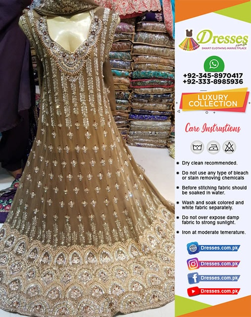 Pakistani Wedding Frock 2018