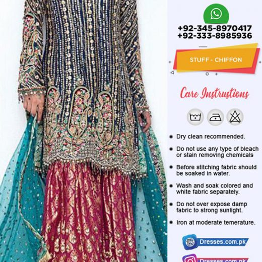 Anus Abrar Chiffon Collection 2019
