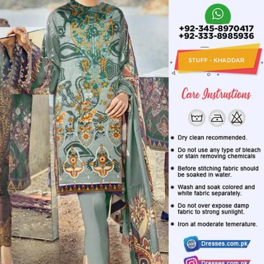 Baroque Khaddar Collection 2018