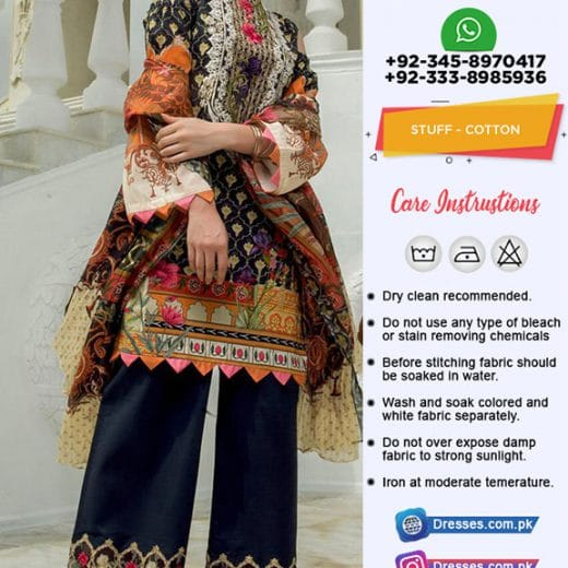 Firdous Cambric Collection 2019