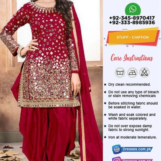 Indian Chiffon Collection 2018