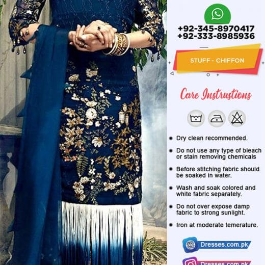 Ittehad Luxury Chiffon Collection 2019