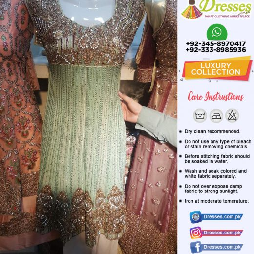 Latest Pakistani Party Wear Dresses 2019