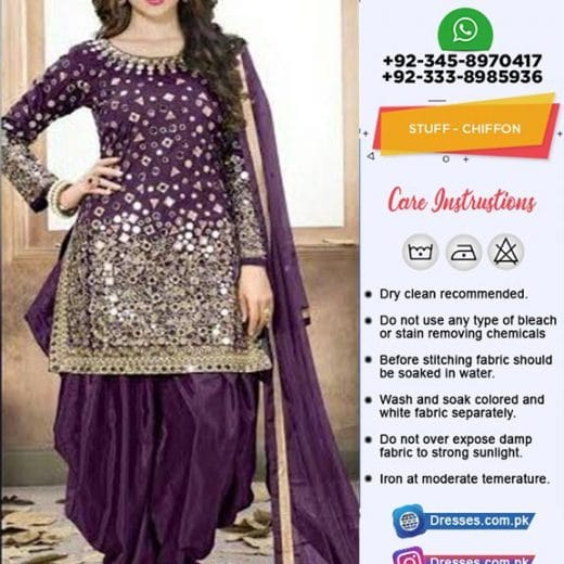 Latest Punjabi Suit for Parties