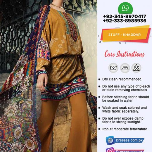 Maria B Khaddar Collection 2019
