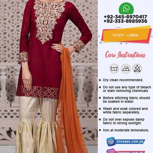Maria B Linen Latest Suit 2019