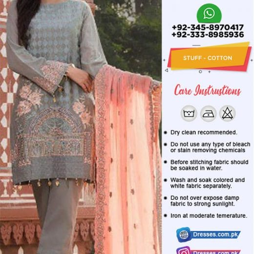 Pakistani Cotton Suit 2019