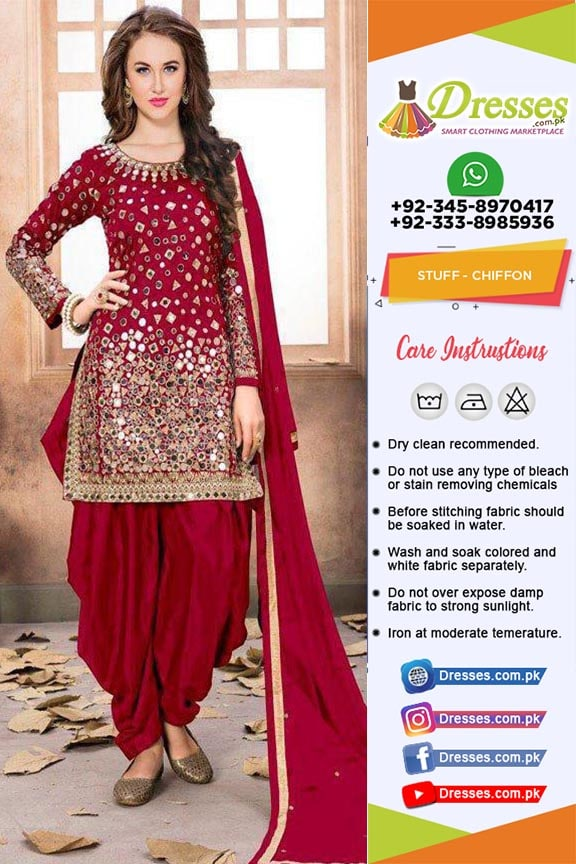 Punjabi Dresses for Bride