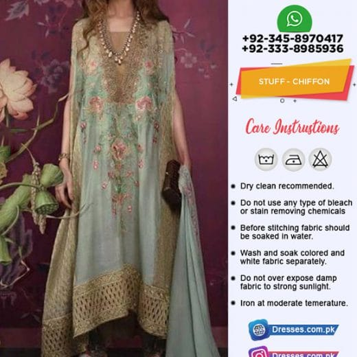 Sana Safinaz Chiffon Collection 2018