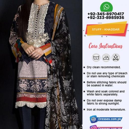Sana Safinaz Khaddar Collection