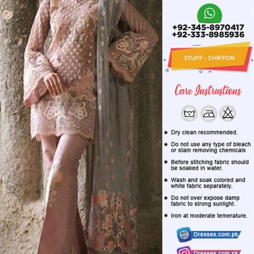 Zainab Chottani Chiffon Collection 2019