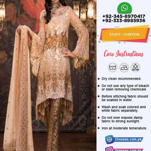 Maryams Chiffon Collection 2019