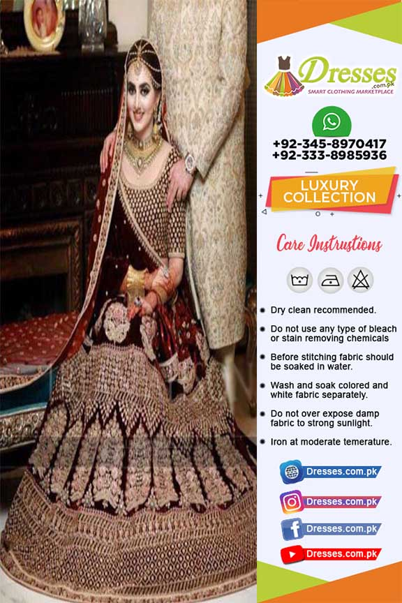 Pakistani Bridal Suit 2019