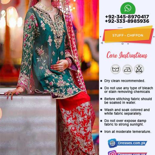 Pakistani Chiffon Collection 2018