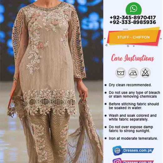 Pakistani Chiffon Collection 2019