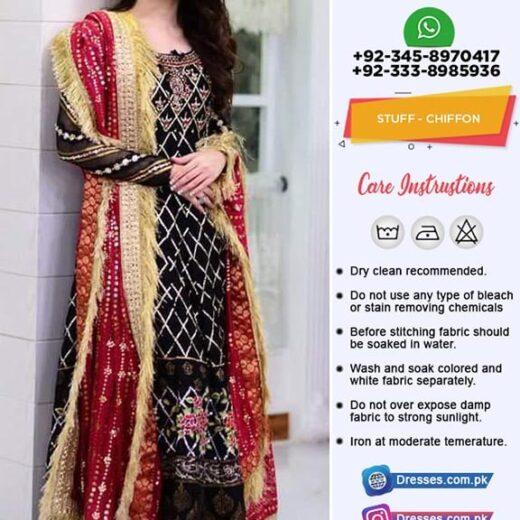 Pakistani Chiffon Collection 2019