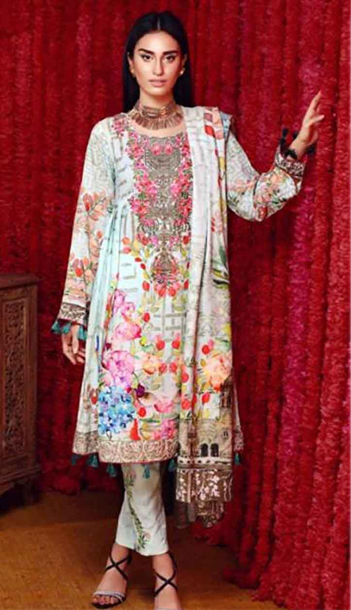 Pakistani Swiss Lawn Collection