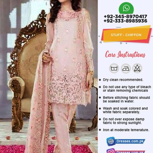 Serene Premium Latest Chiffon Suit
