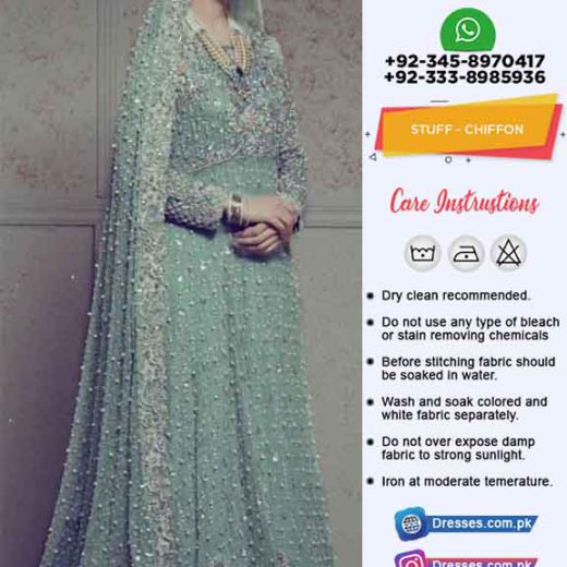 Annus Abrar Bridal Collection 2019
