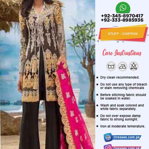 Asim Jofa Chiffon Collection 2019