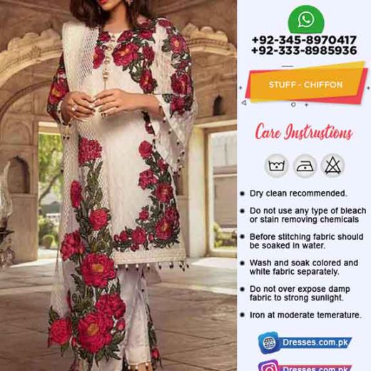 Gulal Chiffon Collection 2019
