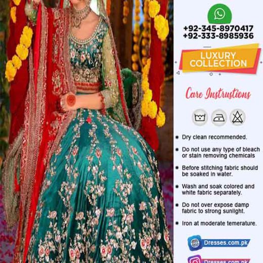 Kashees Bridal Latest Suit 2019