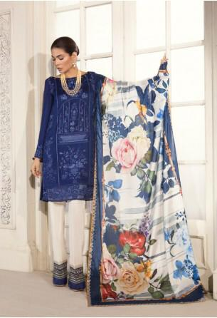 Mahgul Silk and chiffon