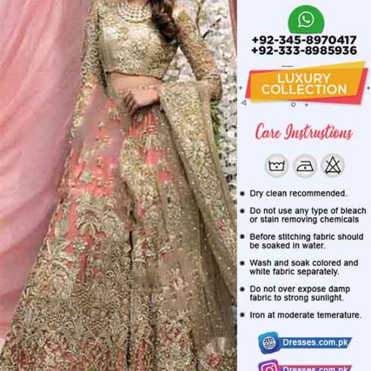 Pakistani Bridal Luxury Collection