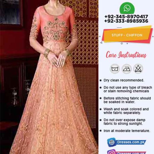 Pakistani Bridal Maxi Dresses