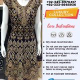 Pakistani Dresses Manufacturer
