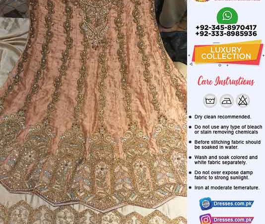 Pakistani Wedding Dresses Manufacturer