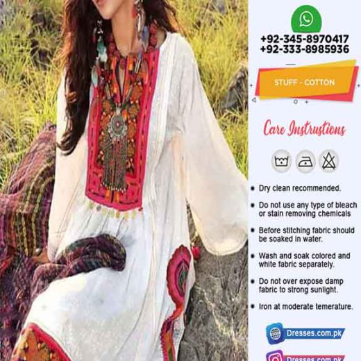 Gul Ahmed Cotton Dresses 2019
