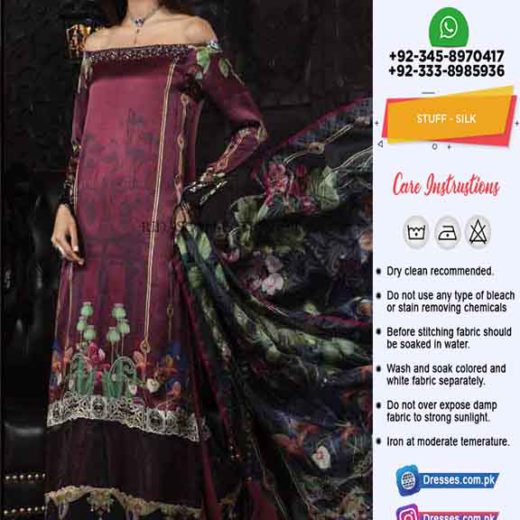 Maria B Latest Silk Collection 2019