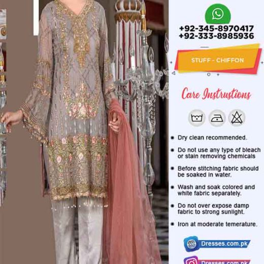 Maryams New Chiffon Dresses 2019