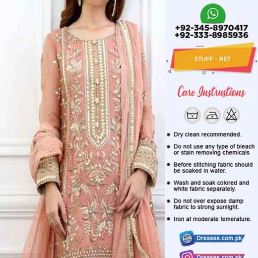 Pakistani Bridal Net Collection