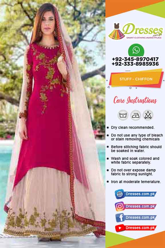 Pakistani Bridal Sharara 2019