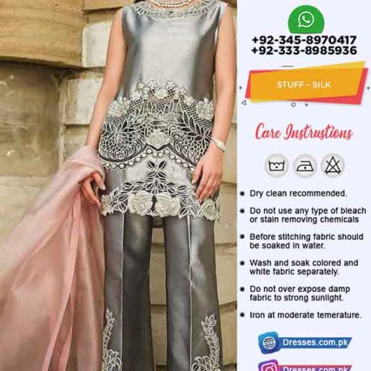 Zainab Chottani Silk Collection 2019