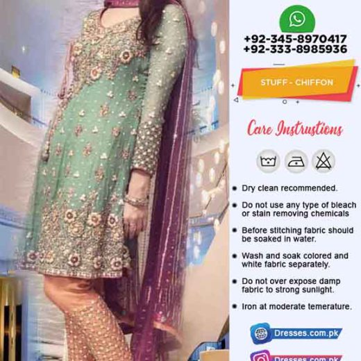 Al Haram Latest Chiffon Dresses