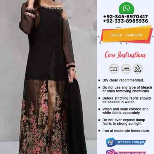 Maria B Chiffon Dresses Collection