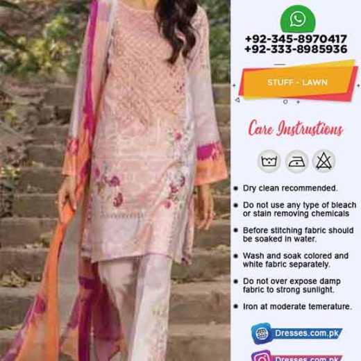 Pakistan Summer Dresses 2019